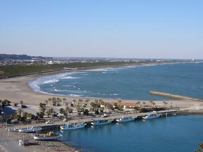 画像:太東海水浴場